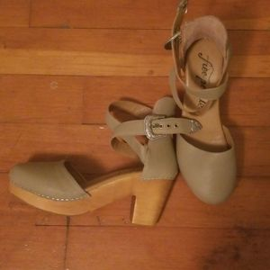 Free People Leather Heels